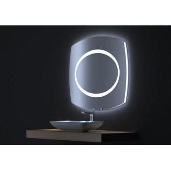 Зеркало с LED подсветкой Виктория 80х75
