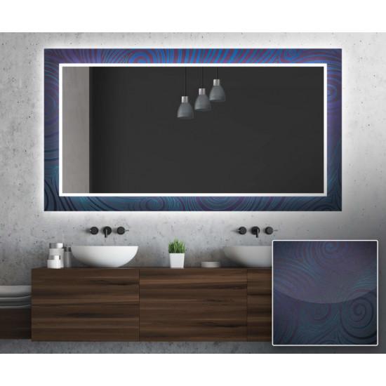 Зеркало с подсветкой Декор 03 в интернет-магазине ROSESTAR фото