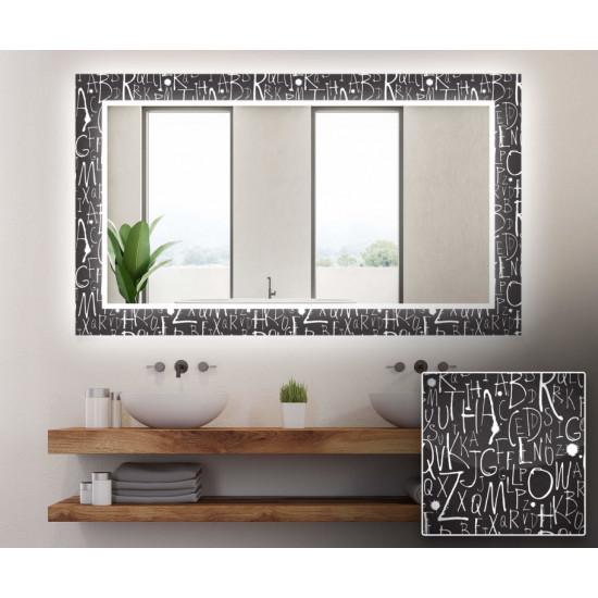 Зеркало с подсветкой Декор 10 в интернет-магазине ROSESTAR фото