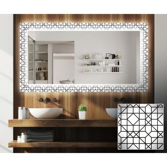 Зеркало с подсветкой Декор 11 в интернет-магазине ROSESTAR фото