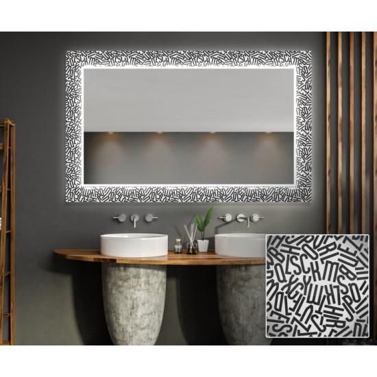 Зеркало с подсветкой Декор 12 в интернет-магазине ROSESTAR фото