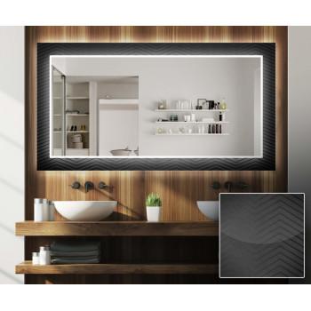 Зеркало с подсветкой Декор 13