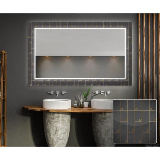 Зеркало с подсветкой Декор 14 в интернет-магазине ROSESTAR фото