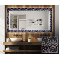 Зеркало с подсветкой Декор 15