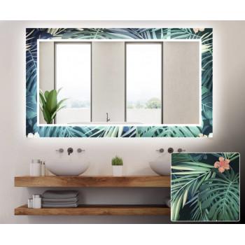 Зеркало с подсветкой Декор 18