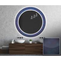 Круглое зеркало с подсветкой Декор 19