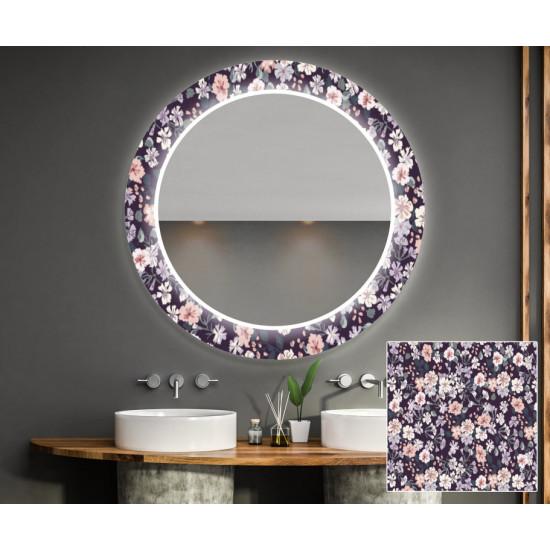 Круглое зеркало с подсветкой Декор 21 в интернет-магазине ROSESTAR фото