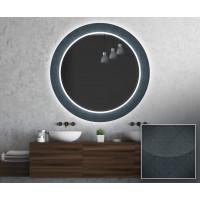 Круглое зеркало с подсветкой Декор 22