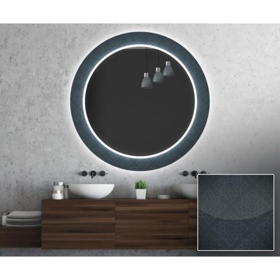 Круглое зеркало с подсветкой Декор 22 в интернет-магазине ROSESTAR фото