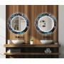 Круглое зеркало с подсветкой Декор 23 в интернет-магазине ROSESTAR фото 3