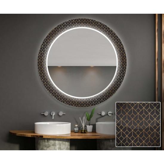 Круглое зеркало с подсветкой Декор 24 в интернет-магазине ROSESTAR фото