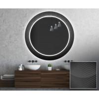 Круглое зеркало с подсветкой Декор 29