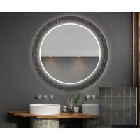 Круглое зеркало с подсветкой Декор 30
