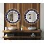 Круглое зеркало с подсветкой Декор 31 в интернет-магазине ROSESTAR фото 3