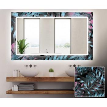 Зеркало с подсветкой Декор 07