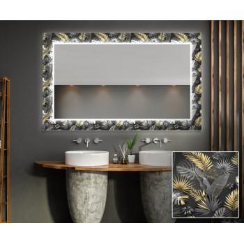 Зеркало с подсветкой Декор 09