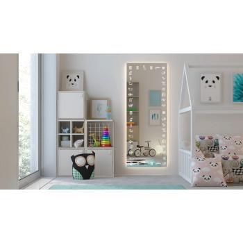 Зеркало для детской комнаты с подсветкой Животные