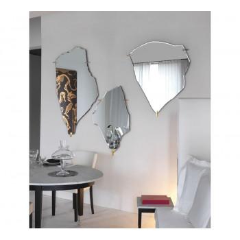 Геометрическое дизайнерское зеркало Архипелаг