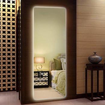 Зеркало большое напольное и настенное в полный рост с LED подсветкой Эприл