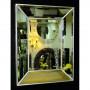 Венецианское зеркало Selfie в зеркальной раме Античное Серебро в интернет-магазине ROSESTAR фото