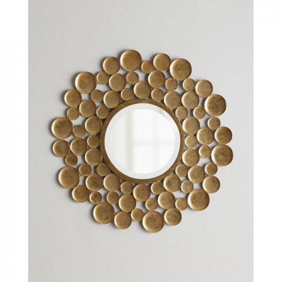 Дизайнерское оригинальное зеркало в металлической раме Вирджиния в интернет-магазине ROSESTAR фото