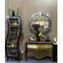 Круглое декоративное зеркало 1157х1157 KFH302 в интернет-магазине ROSESTAR фото 1