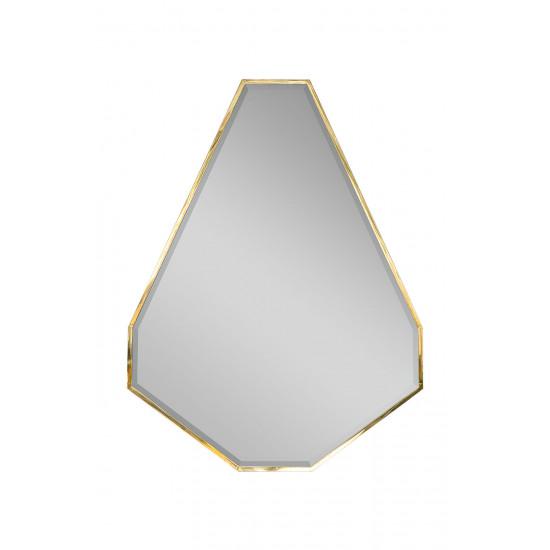 Зеркало в металлической золотой раме KFG088 в интернет-магазине ROSESTAR фото