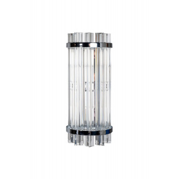 Стеклянное бра хром 62GDW-D007K5B/350CH