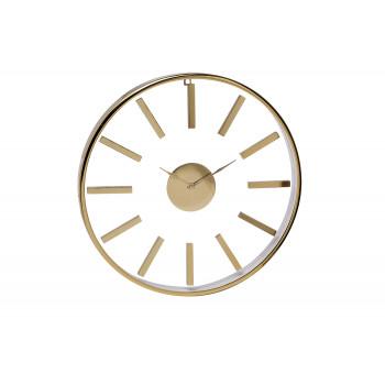 Часы настенные круглые золотые 79MAL-5710-76