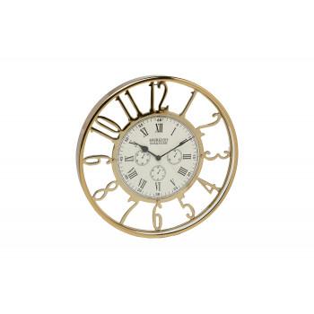 Часы настенные круглые золотые 79MAL-5476-40G