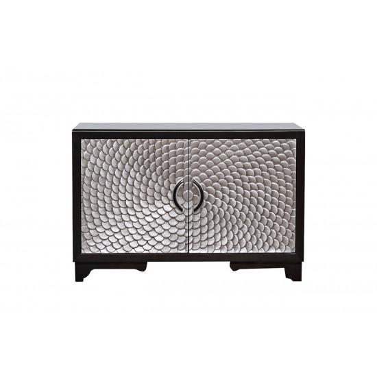 Дизайнерский комод с дверцами Чешуя ART-X1032-S в интернет-магазине ROSESTAR фото