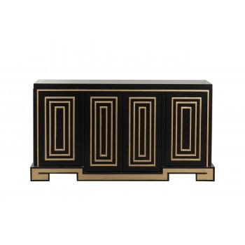 Дизайнерский комод с дверцами Меандры ART-4440-S