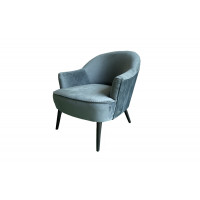 Велюровое кресло зеленое HD2203-411KD GRN