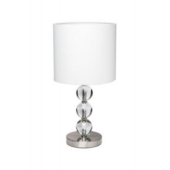 Настольная лампа с белым плафоном 22-86654