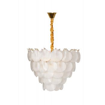 Люстра потолочная Ракушки 92EL-YG18516-10P