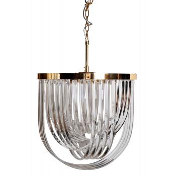 Потолочная люстра стекло/золото 20MD3279-6G