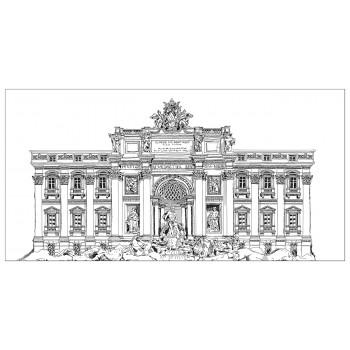 Холст Дворцовый ансамбль-2 54STR-PALACE2