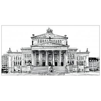 Холст Дворцовый ансамбль-3 54STR-PALACE3