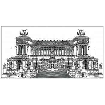 Холст Дворцовый ансамбль-4 54STR-PALACE