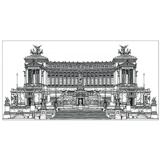 Холст Дворцовый ансамбль-4 54STR-PALACE в интернет-магазине ROSESTAR фото