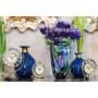 Стеклянная цветная ваза H30xD19 HJ4143-28-K85 в интернет-магазине ROSESTAR фото 1