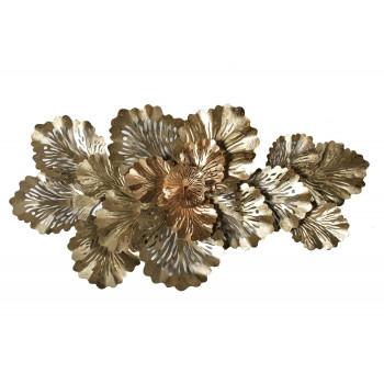Настенный золотой декор Листья 37SM-1469