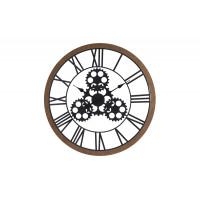 Часы настенные коричневые HZ1300660