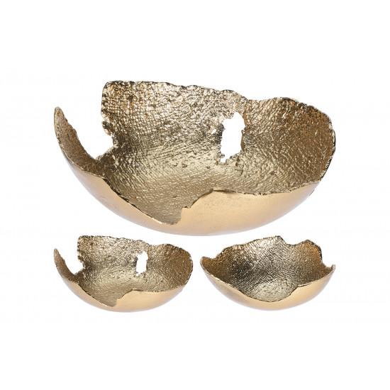 Металлическая декоративная золотая чаша A98016600 в интернет-магазине ROSESTAR фото
