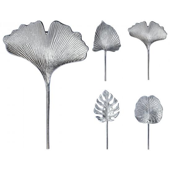 Декор серебряный с подвесом Лист A98017080 в интернет-магазине ROSESTAR фото