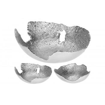 Металлическая декоративная серебряная чаша A98017570