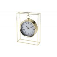 Часы настольные металлические подвесные золотые NBE000020