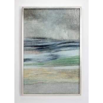 Декоративное настенное панно из цветного стекла Море ART-4508-PL