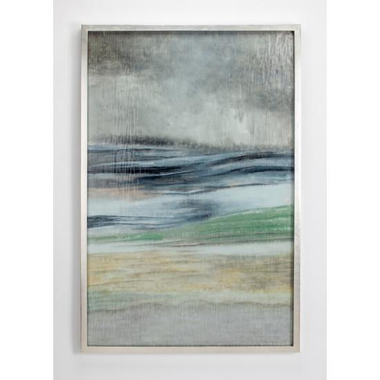 Декоративное настенное панно из цветного стекла Море ART-4508-PL в интернет-магазине ROSESTAR фото