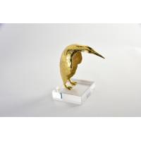 Статуэтка золотой пингвин 55RD4465